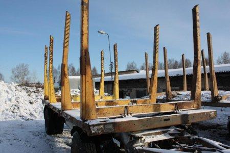 """Компания """"Балтийский лизинг"""" продает лесовозную технику"""